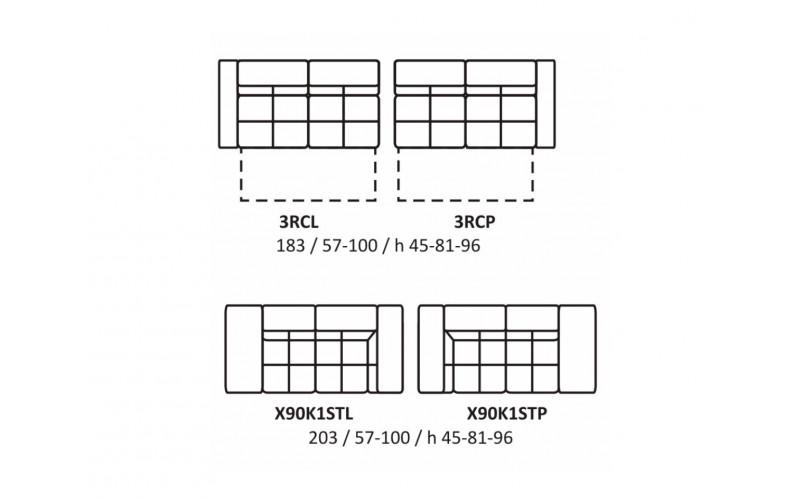 Угловой диван EC54