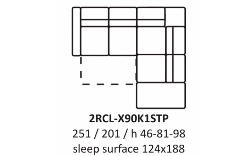 Угловой диван EC56