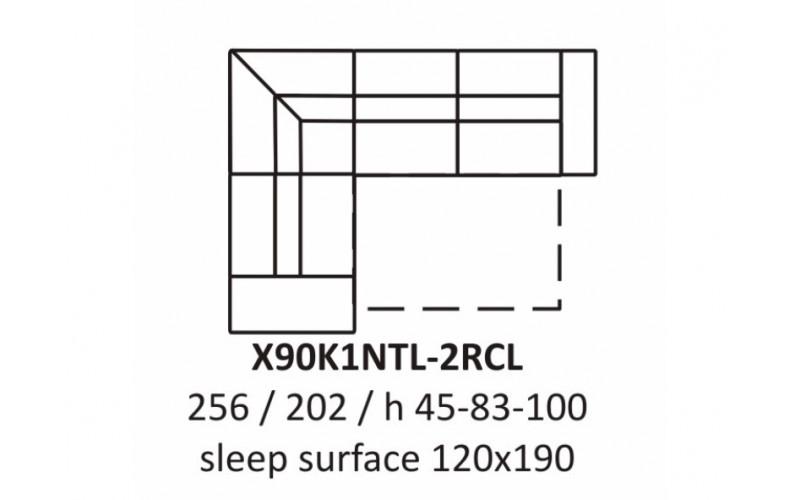 Угловой диван EC57